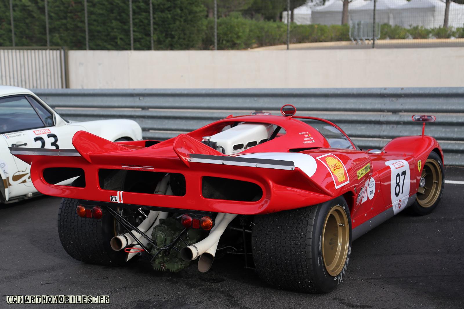Mes rencontres avec les ferrari 512 de course ch ssis par - Photo voiture de course ferrari ...